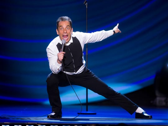 Sebastian Maniscalco brings his comedy to the Flynn Center tonight.