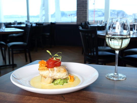 The Chilean sea bass at 3 Westerly Bar & Grill, a nautical-themed