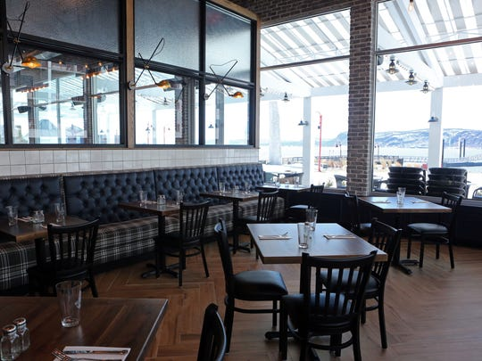 The private dining room at 3 Westerly Bar & Grill, a nautical-themed gastropub on the Ossining waterfront, March 20, 2017.