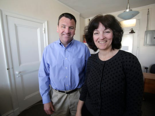 Dennis and Julie Roche, co-founders of Burbio, at their