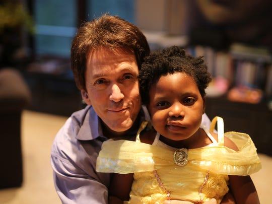 Chika is a 7-year-old Haitian girl whom Mitch Albom