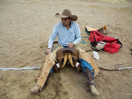 Nick Clark, a New Mexico State University freshman,