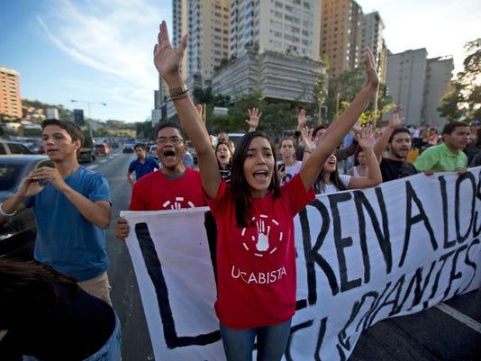 AP VENEZUELA POLITCAL CRISIS I VEN