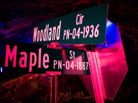 Law enforcement flooded the scene of a police officer involved shooting April 3 on Woodland Circle in Pendleton.