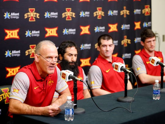 Head coach Kevin Dresser introduces his coaching staff