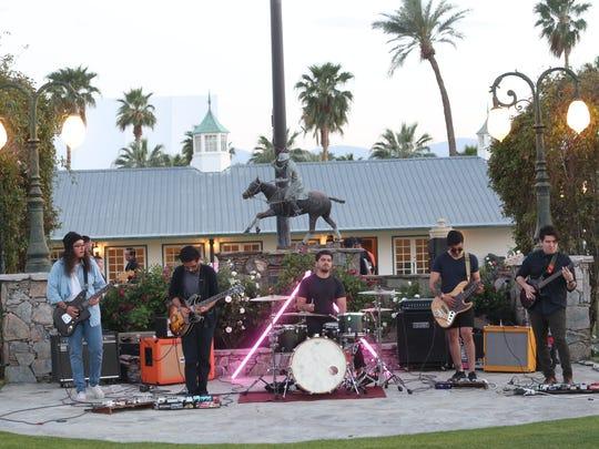 The Tribesmen play at the IOTA HAUS Coachella Valley