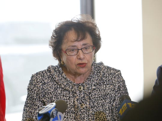 """U.S. Rep.. Nita Lowey, D-NY, blasted Con Edison on Wednesday, saying thousands of her constituents were left without electricity after Winter Storm Riley, and are now """"getting battered"""" by Winter Storm Quinn."""