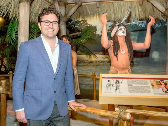Caption: Austin Bell, MIHS Curator of Collections since