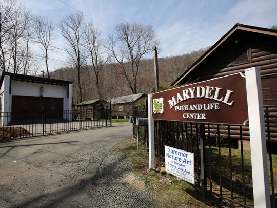 The entrance to Marydell Faith & Life Center April 11, 2017. The Sisters of Our Lady of Christian Doctrine recently sold 30 acres of their land overlooking the Hudson River to the Trust for Public Land, which will put the property under the state ownership for conservation.