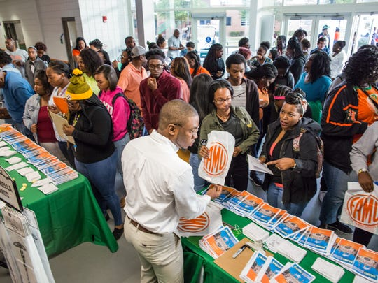 FAMU hosted more than 2,000 graduating high-school students during March Campus Preview.