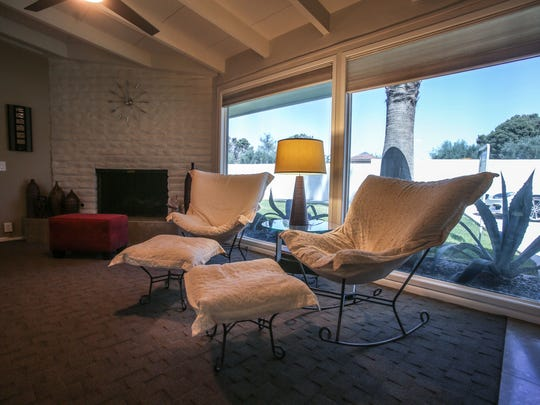A for sale home in Thunderbird Country Club designed