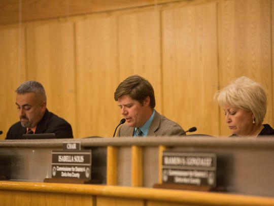 Benjamin Rawson, county commissioner for district three,