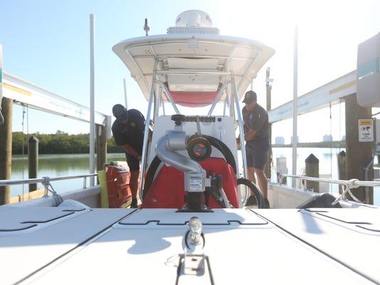 New Bonita Springs fire boat launch
