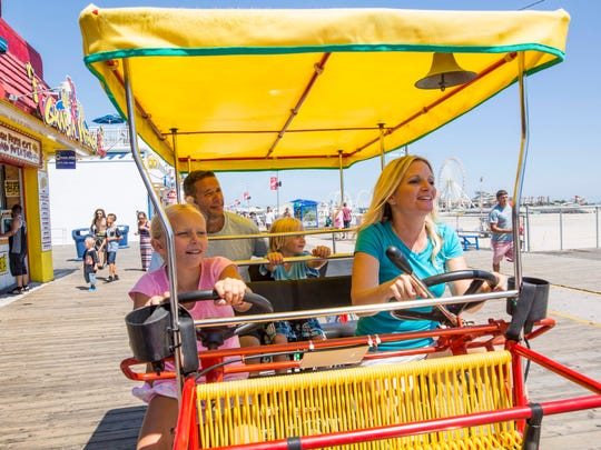 There is no end to the fun you can have on the boardwalk, but don't forget to also explore downtown Wildwood.