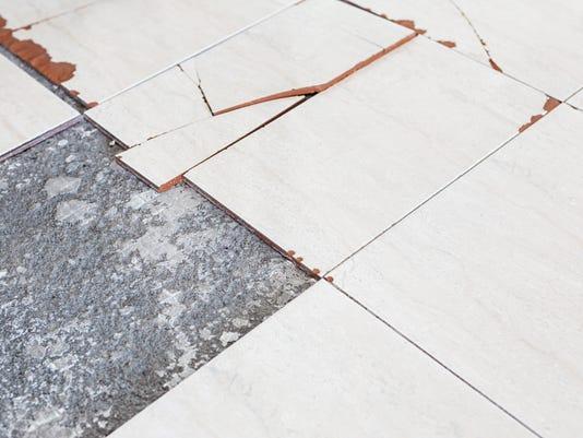 Tiles Or Glue May Contain Asbestos Homeowner Says