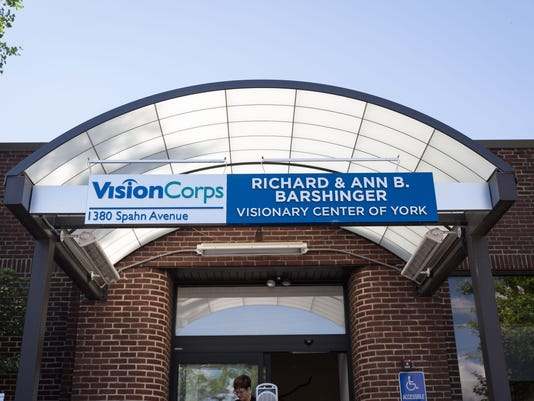 VisionCorps building dedication.