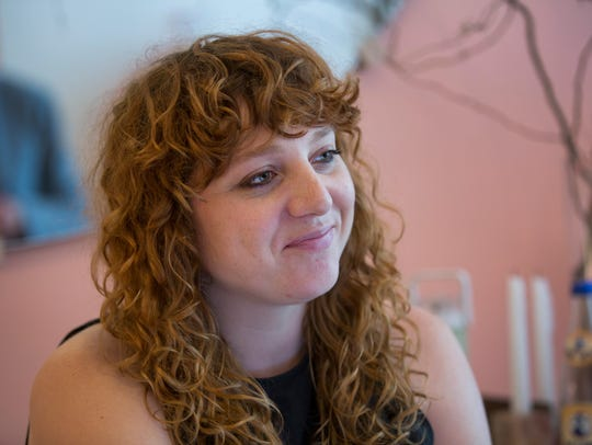 Melissa Lieb, owner of Swoon, across the street from