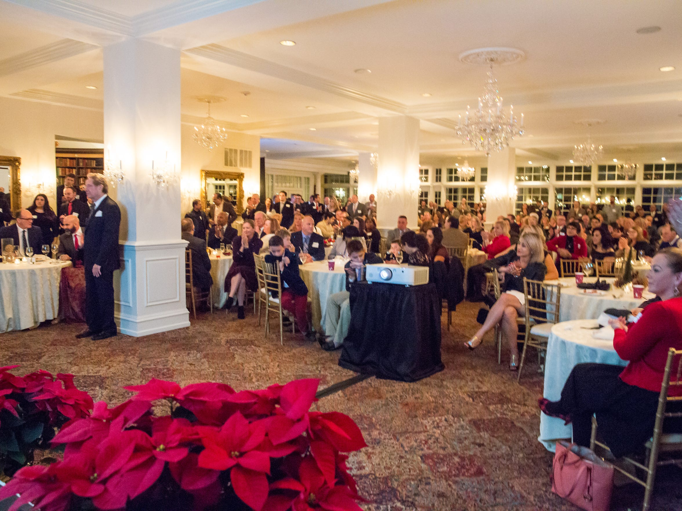 The Somerset Patriots held their Christmas party at Trump National.