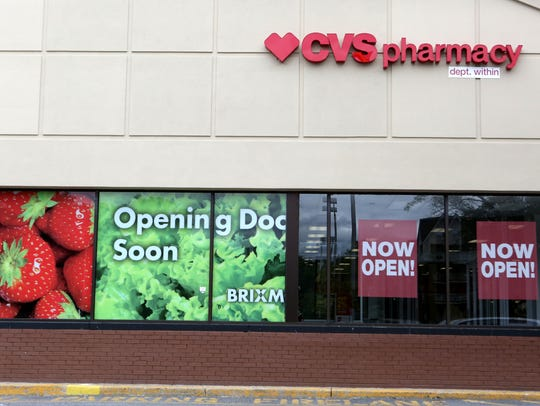 A CVS Pharmacy, which recently opened at the site of