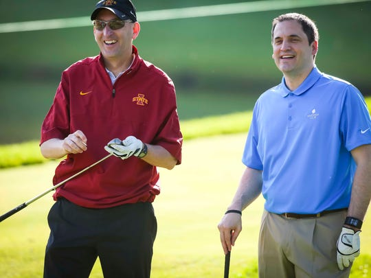 Iowa State athletic director Jamie Pollard and men's
