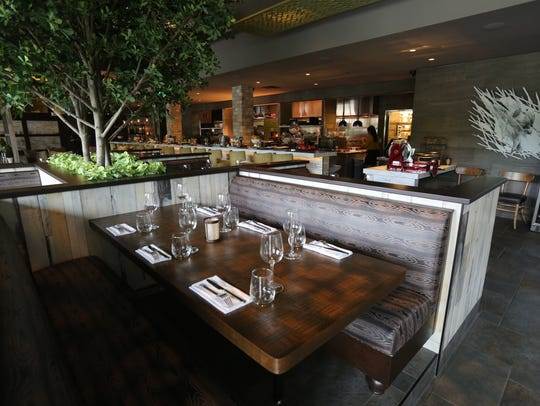 The interior of the City Perch Kitchen + Bar at the