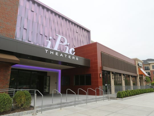 The exterior of the iPic Theaters and City Perch Kitchen