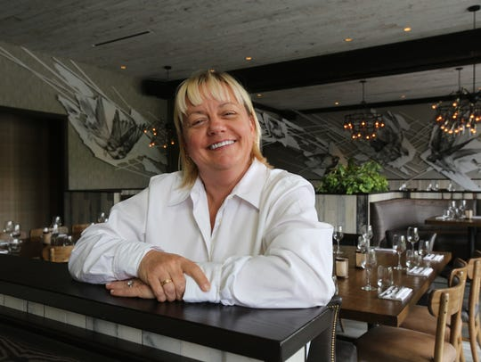 Sherry Yard, COO of the Tuck Hospitality Group, at