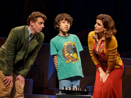 Christian Borle, Anthony Rosenthal and Stephanie J.