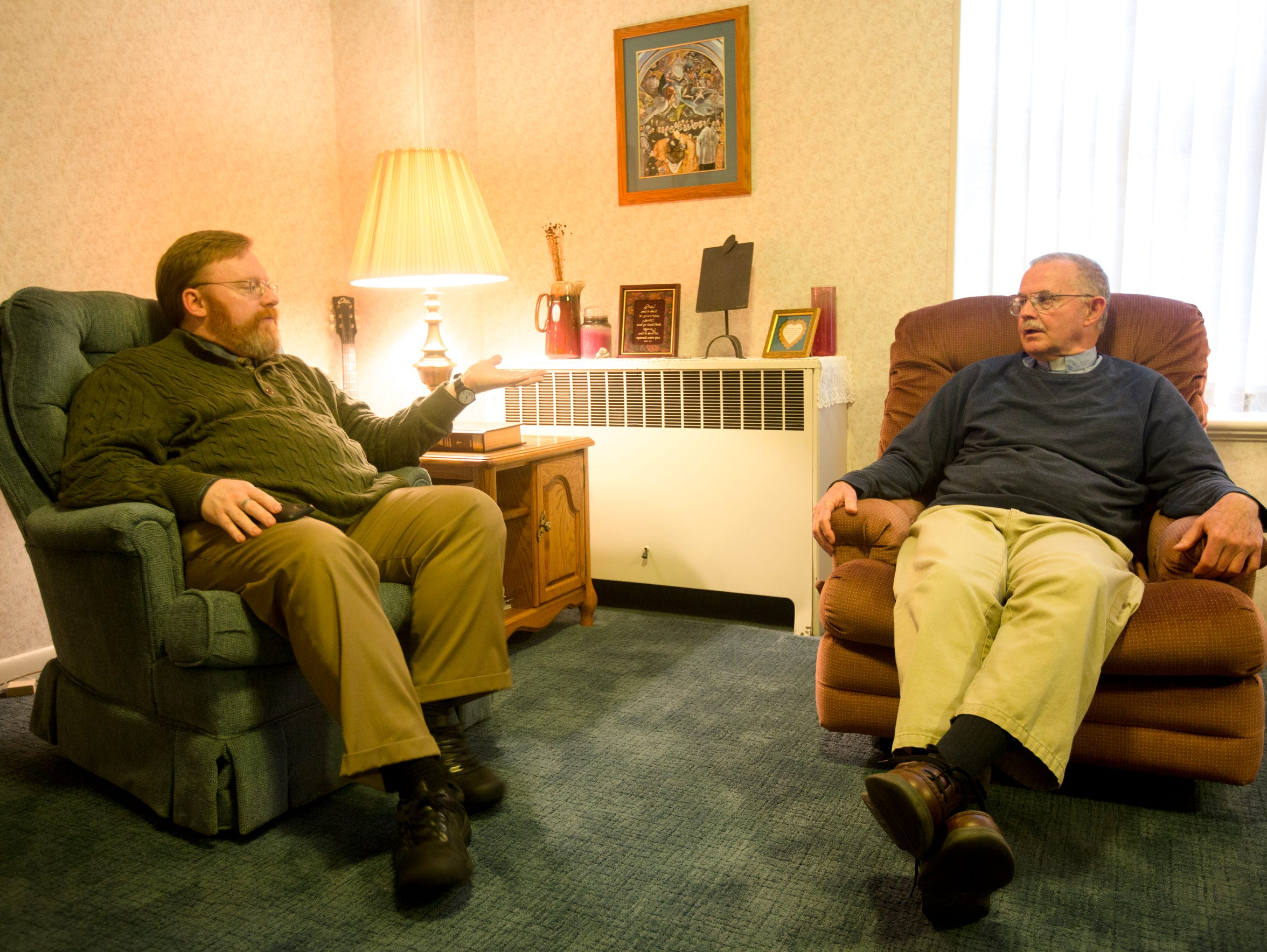 The Rev. Tom Hemm talks to Michael about fundraising