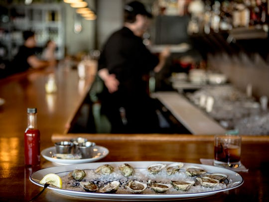 June 10, 2017 - Memphis, TN: The Saucy Lady oysters