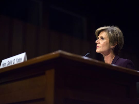 Sally Yates testifies before the Senate Judiciary Subcommittee