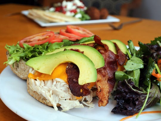 The Turkey and Avocado sandwich at the Artist's Palate