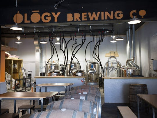Ology Brewing Co. is set to open on Friday.