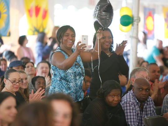 The BOCES Jesse J. Kaplan School in West Nyack celebrated
