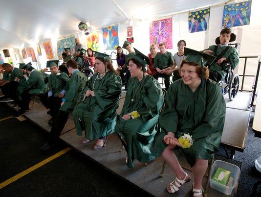 Kaplan School Graduation