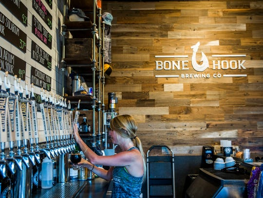 Bone Hook Brewing Co. will host its second annual Hook & Hole Cornhole Tournament on Sunday.