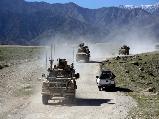 AP AFGHANISTAN US TROOP SURGE I FILE AFG