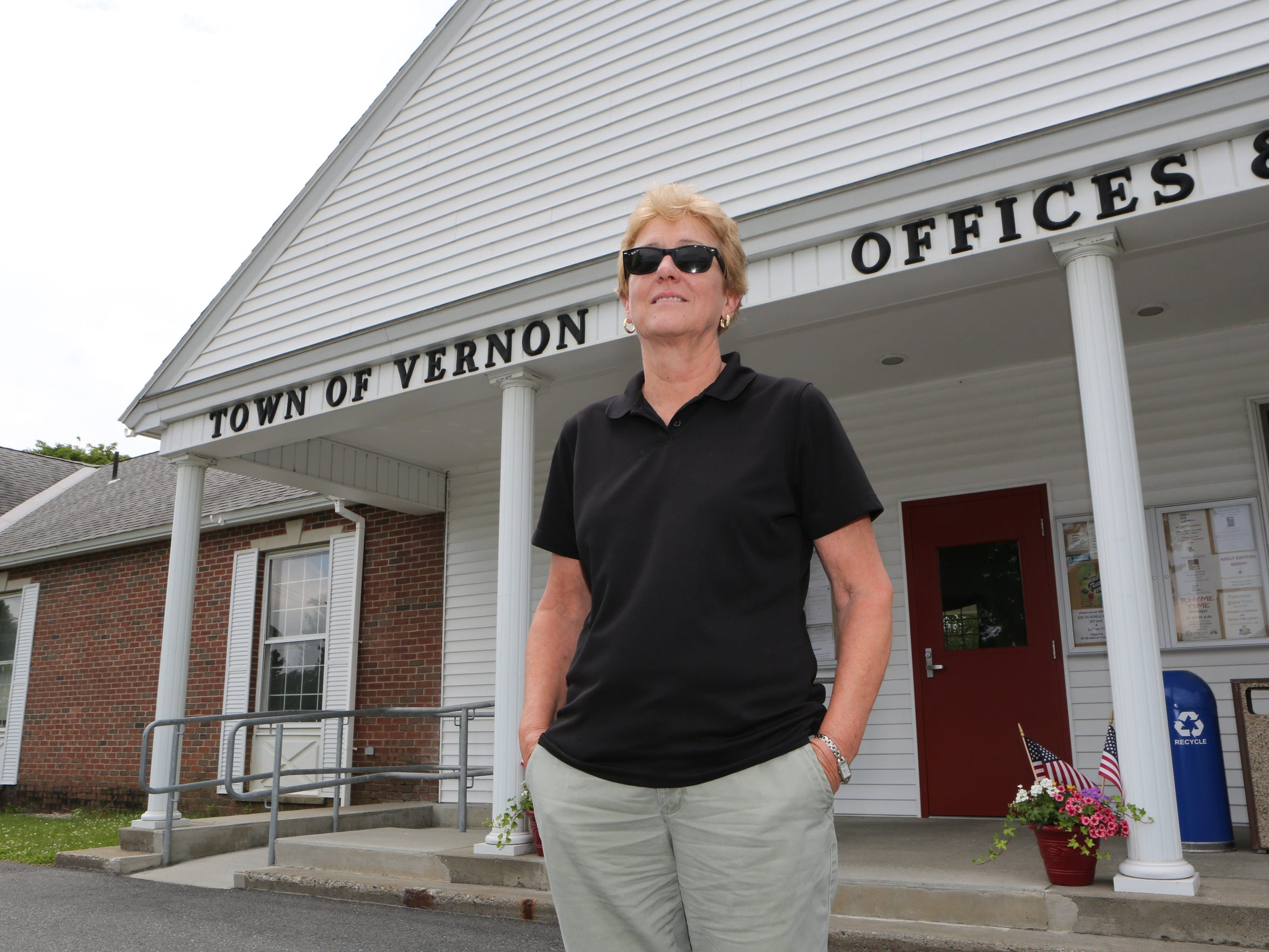 Patty O'Donnell, a planning committee member, is pictured