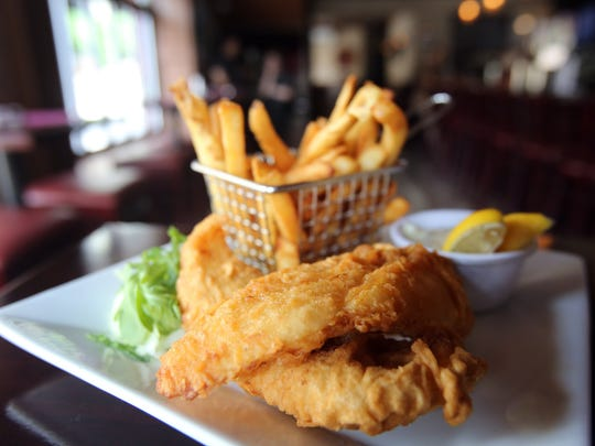 Fish and chips is on the menu at Francey Brady's restaurant in Yonkers June 19, 2017.