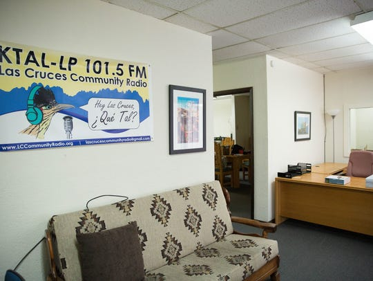 The Lobby of the new KTAL community radio station.