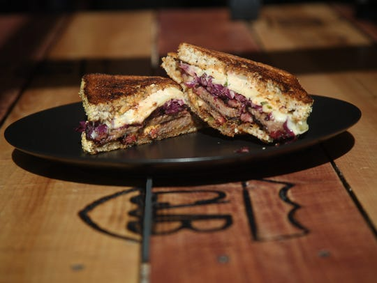 The Reuben sandwich from KUMA Catering's pop-up restaurant