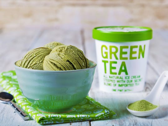 Mr. Green Tea ice cream.