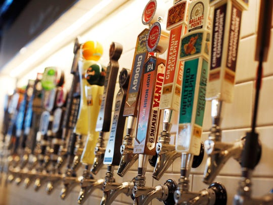 More than 100 beers will be on tap at BeerStyles restaurant in the West Glen Town Center in West Des Moines.