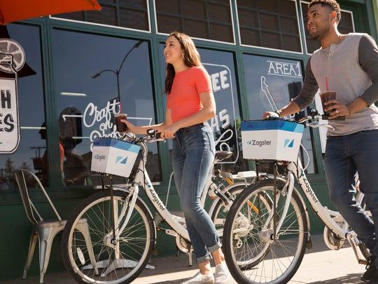 A Massachusetts company, Zagster, will have rental bikes in Port Huron.