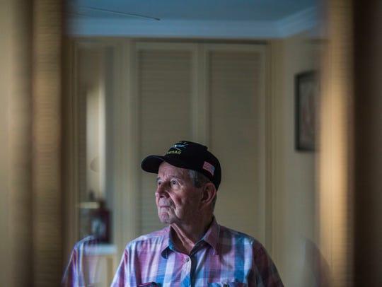 Vietnam War veteran Roger Richards, 84, in his East