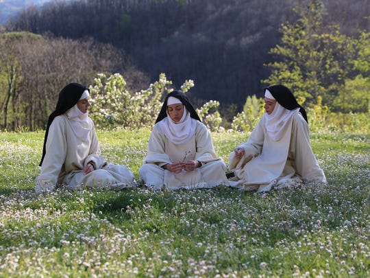 """Alison Brie (from left), Aubrey Plaza and Kate Micucci star in """"The Little Hours."""""""