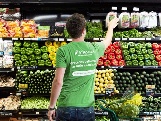Instacart is a grocery delivery service that delivers