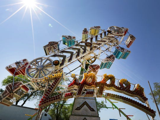 Wristbands will get you onto carnival rides all week at the Outagamie County Fair.