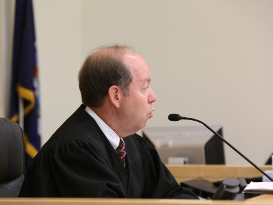 Judge David Zuckerman oversees the case  of Richard