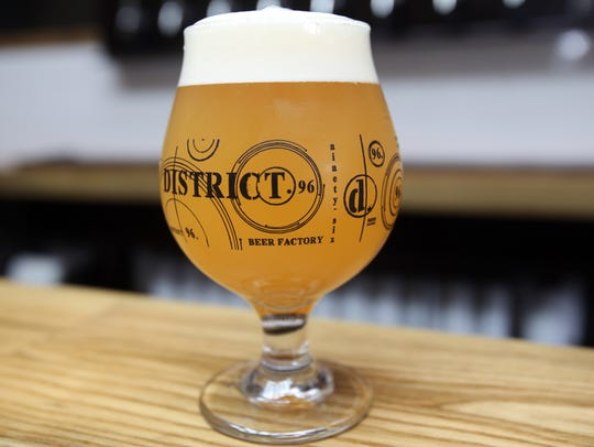 District 96 Beer Factory in New City July 24, 2017.